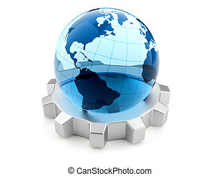 global, concept, business