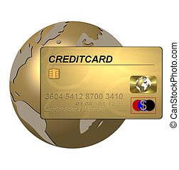 global credit card gold