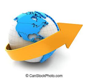 global, croissance