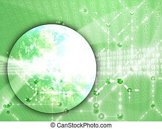 Global data transfer