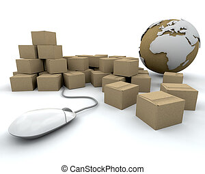 Global delivery - Image depicting global delivery