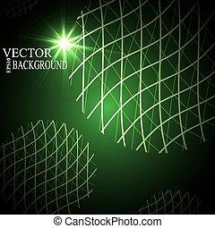 Global Digital mesh network, vector eps10