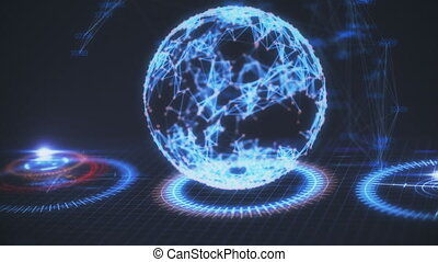 global, données, business