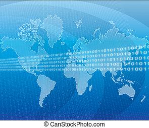 global, données