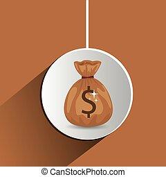 Global Economy design - Global Economy concept with money...