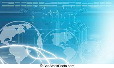 global, eletrônica