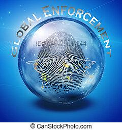 Global Enforcement - Fingerprint ID Enforcement
