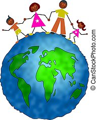 global, famille