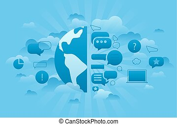 Global Forum blue