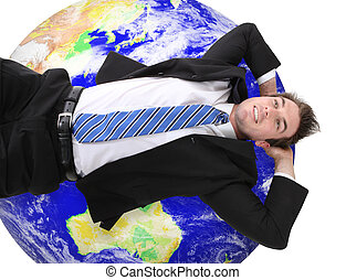 global, homme, business