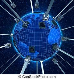 global, informação