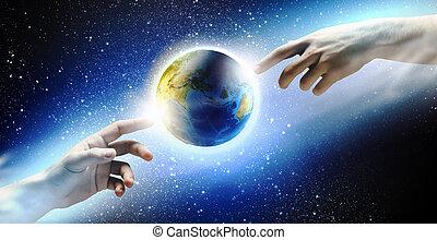global, interacción