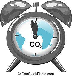 global, klima, begriff, wärmen, änderung