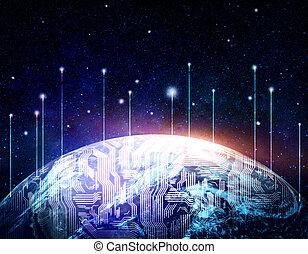 global, Kommunikation, begriff
