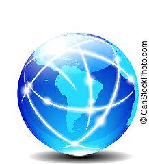 global,  Latin, syd, amerika