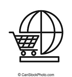 global market illustration design
