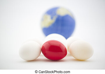 Global market risks seen in red nest egg