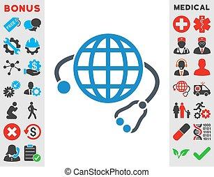 Global Medicine Icon