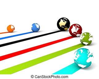 global, nätverksarbetande