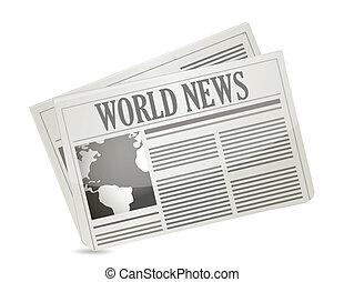 global, notícia, conceito
