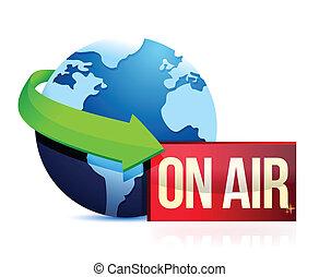 global, noticias, en el aire