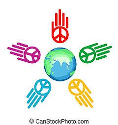 global, paz