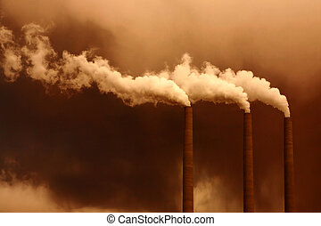 Global Pollution of the Atmosphere - Noxious Greenhouse...
