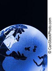 global, pretas, negócio