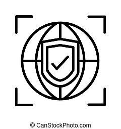 global protection illustration design