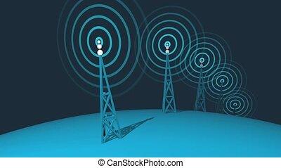 Global Pylons Transmitting Loop HD