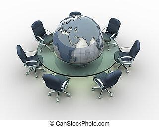 global, réunion