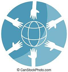 Global Reach Unity Icon