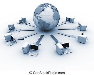global, rede computador