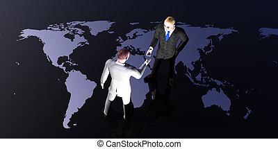global, reunión