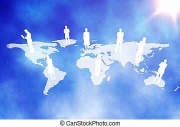 global sammenhænge, baggrund
