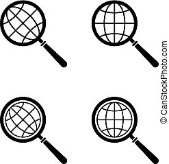 Global Search Icon Collection