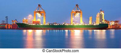Global shipping Panorama