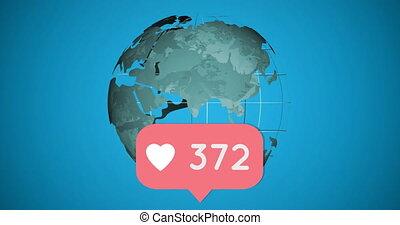 Global social networking 4k
