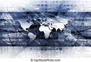 global, soluções