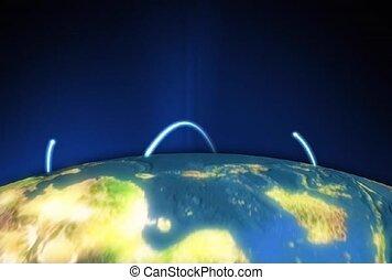 global, spread, reach