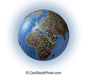 Global stock market symbols