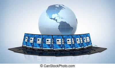 global, téléchargement