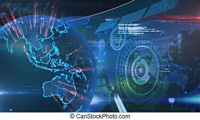 Global technology and data processing