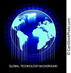 Global Technology Background