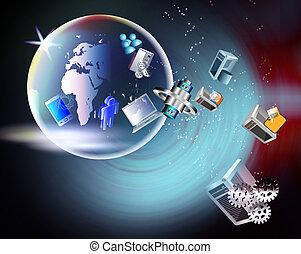 global, tecnología, tendencias