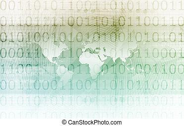 global, tecnologia, companhia