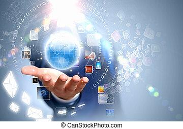 global, teknologien