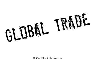 Global Trade rubber stamp