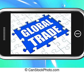 Global Trade Tablet Shows Online International Business