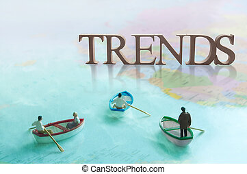 Global trends concept